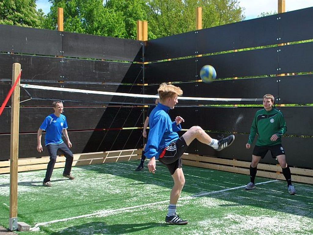 Fußball, Wand, Tennis – kurz FuWaTe
